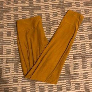 LLR Mustard Yellow Leggings